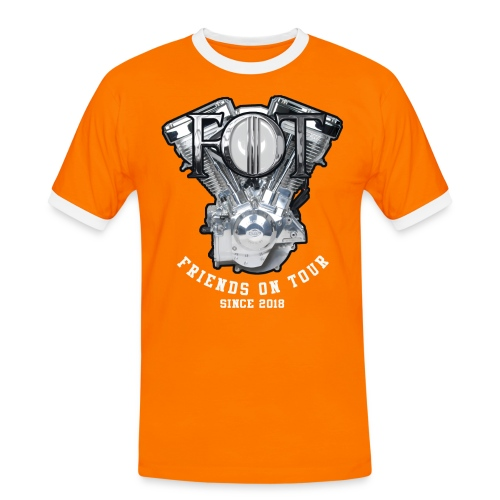 FoT - Männer Kontrast-T-Shirt