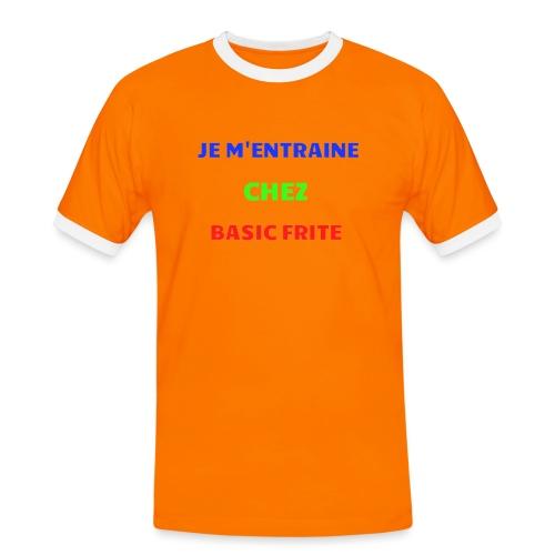 Basic Frite - T-shirt contrasté Homme
