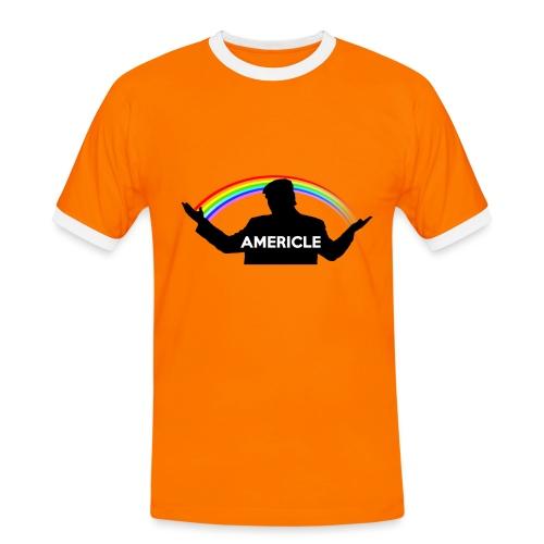 Americle - Maglietta Contrast da uomo