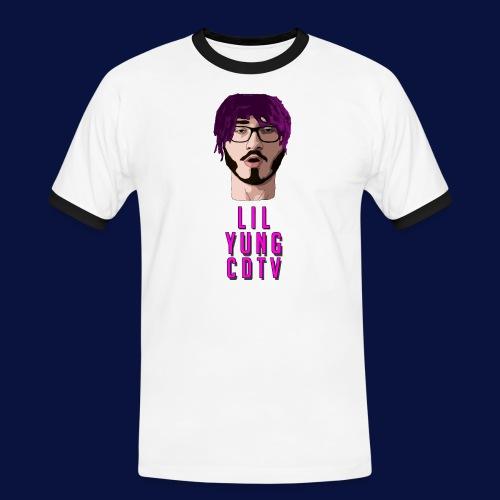 LIL YUNG CDTV ALT. TEXT - Men's Ringer Shirt