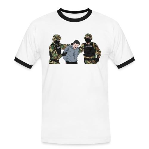 EL CHAPO - Männer Kontrast-T-Shirt