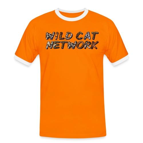 WildCatNetwork 1 - Men's Ringer Shirt