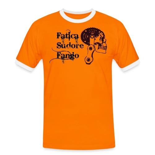 mtb_logo_fatica_fango_spr - Maglietta Contrast da uomo