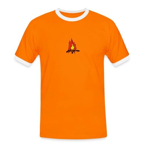 Fire color fuoco - Maglietta Contrast da uomo