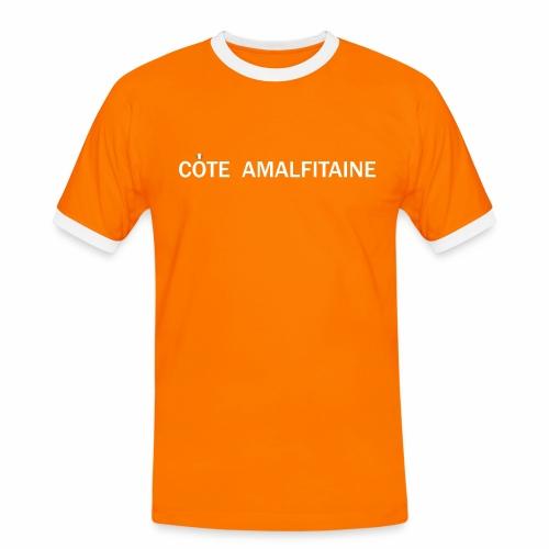 Côte Amalfitaine - T-shirt contrasté Homme