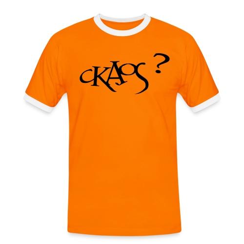 ckaos2 - T-shirt contrasté Homme
