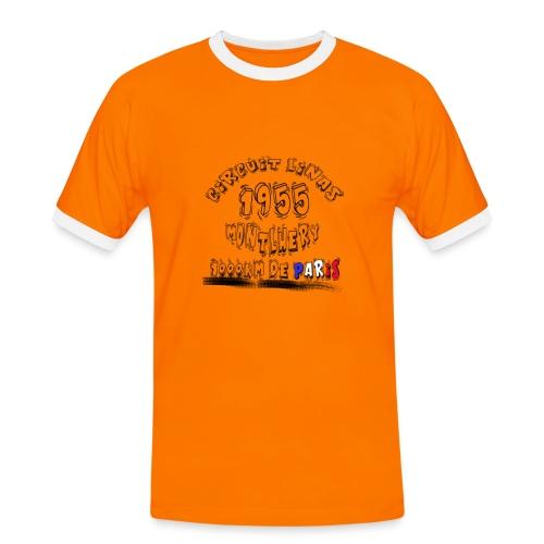 Les anciennes courses automobile - T-shirt contrasté Homme