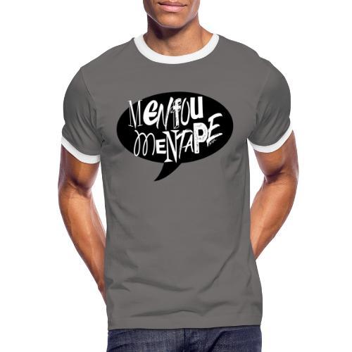 La bulle MENFOUMENTAPE by Alice Kara - T-shirt contrasté Homme