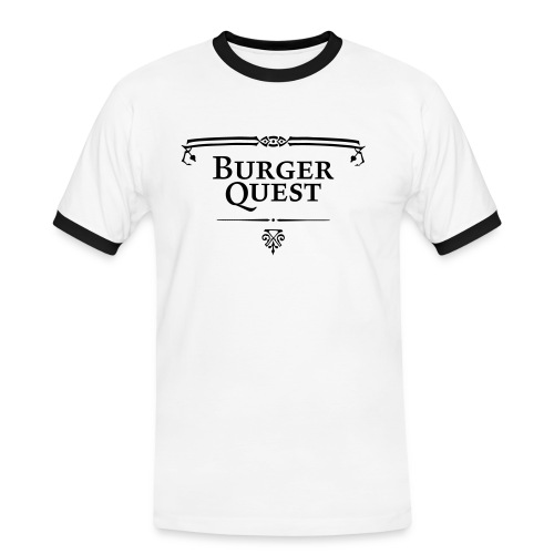 Burgerquest Logo vector - Mannen contrastshirt