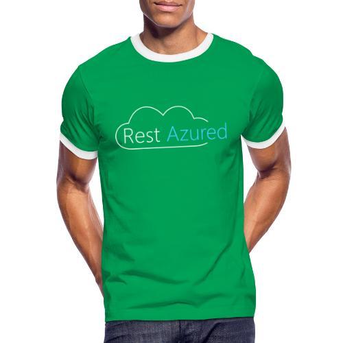 Rest Azured # 2 - Men's Ringer Shirt