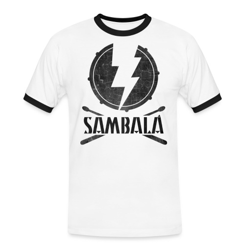 Batucada Sambala - Camiseta contraste hombre