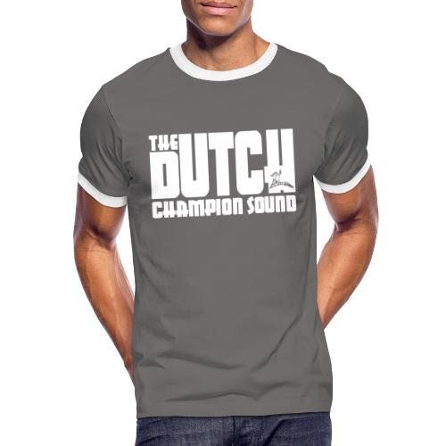 The Dutch Champion Sound WHITE - Men's Ringer Shirt