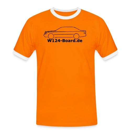 w124shirt - Männer Kontrast-T-Shirt