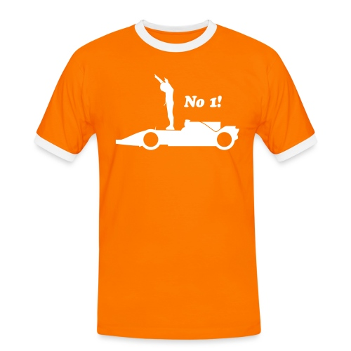 Winnaar eerste plaats - Mannen contrastshirt