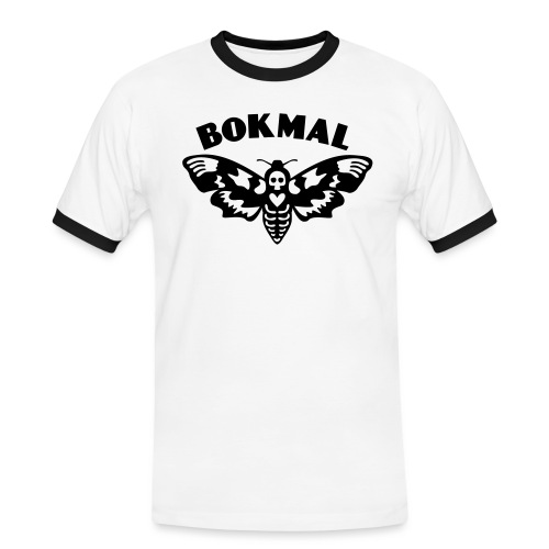 BOKMAL - Kontrast-T-shirt herr