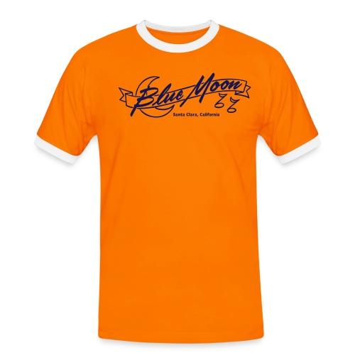 blue moon - Männer Kontrast-T-Shirt