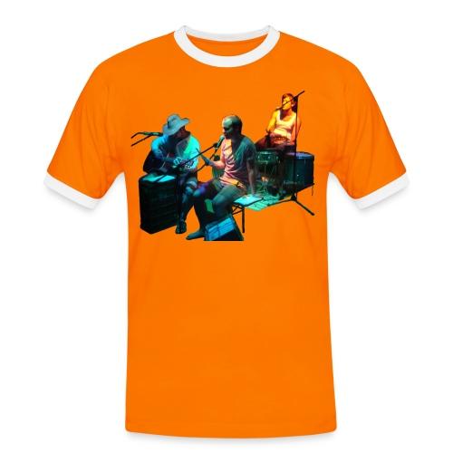 sniwo - Männer Kontrast-T-Shirt
