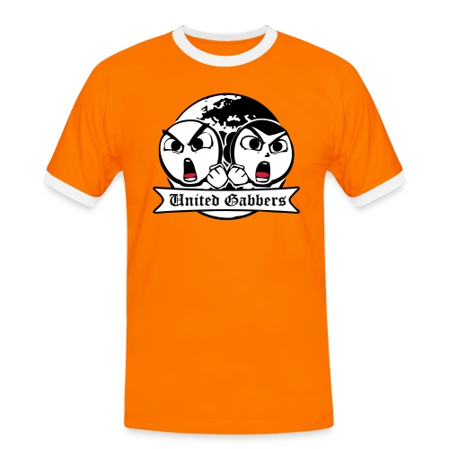 logo - Mannen contrastshirt