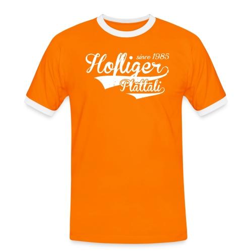 Hofliger-1b_0 - Männer Kontrast-T-Shirt
