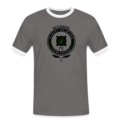 AlbertHofmann_Forschung - Männer Kontrast-T-Shirt