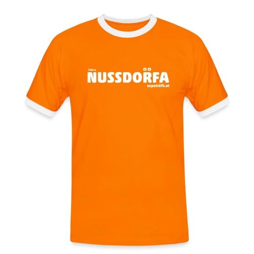 NUSSDORFA - Männer Kontrast-T-Shirt