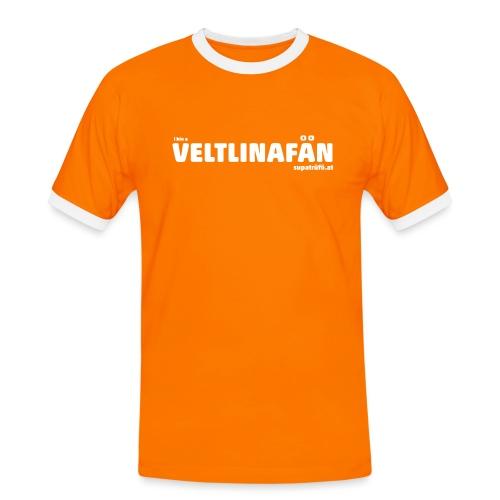 VELTLINAFAN - Männer Kontrast-T-Shirt