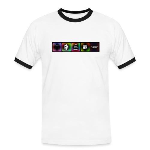 5 Logos - Men's Ringer Shirt
