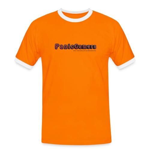 Maglia PanicGamers - Maglietta Contrast da uomo