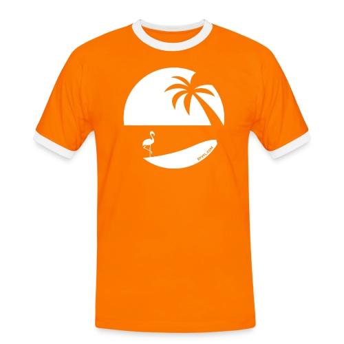 Logo French Floridian blanc - T-shirt contrasté Homme