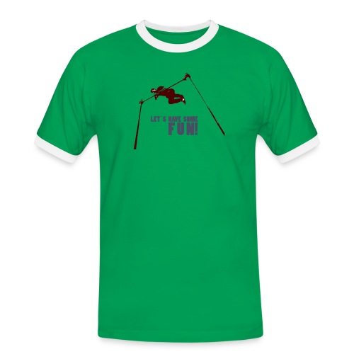 Let s have some FUN - Mannen contrastshirt