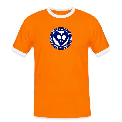 THIS IS THE BLUE CNH LOGO - Men's Ringer Shirt