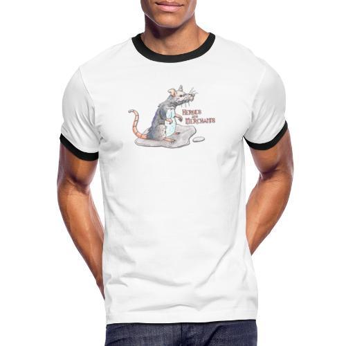 Rat - Männer Kontrast-T-Shirt