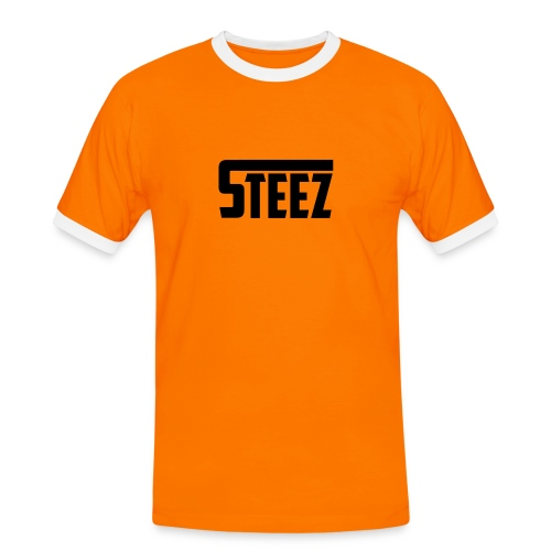 steez tshirt name - Mannen contrastshirt