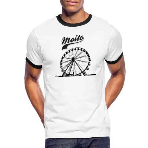 Manege a Moito - T-shirt contrasté Homme