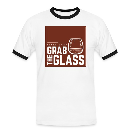 Grabtheglass LOGO - Männer Kontrast-T-Shirt