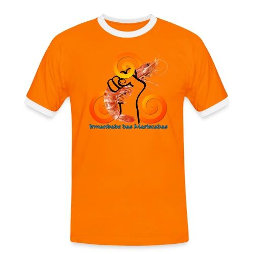 Irmandade das Mariscadas - Camiseta contraste hombre