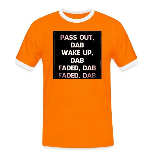 DAB - Mannen contrastshirt