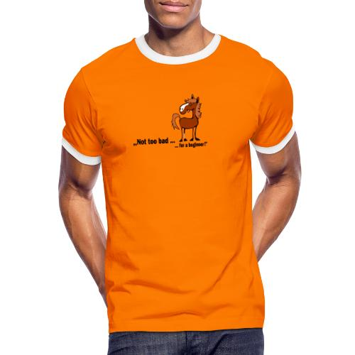 not too bad - Männer Kontrast-T-Shirt