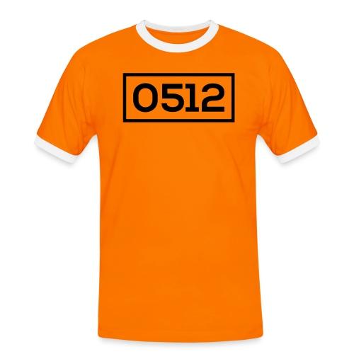 0512 - Mannen contrastshirt