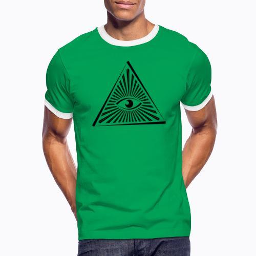 eye - Men's Ringer Shirt