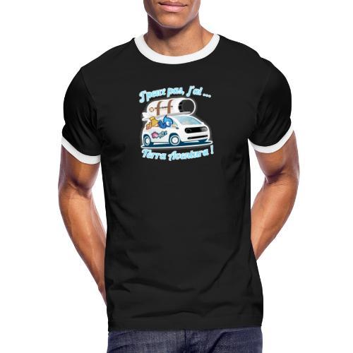 JpeuxPasJai_terra - T-shirt contrasté Homme