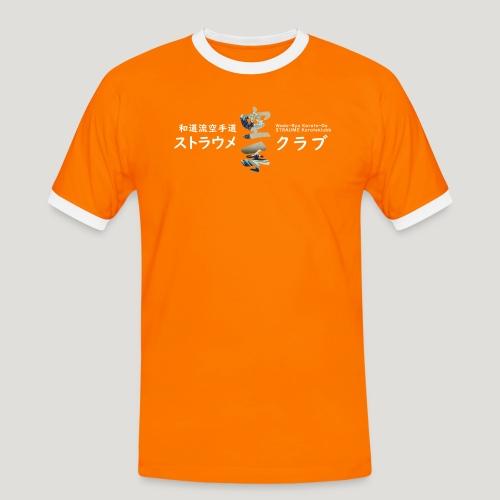 Straume Karateklubb - Mannen contrastshirt