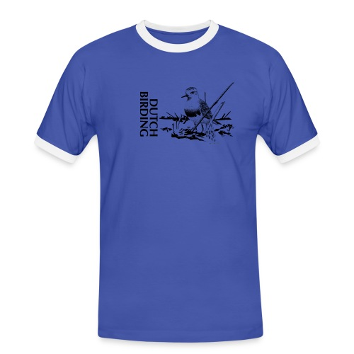 Steppeplevier - Westkapelle - Bram Rijksen - DB - Mannen contrastshirt