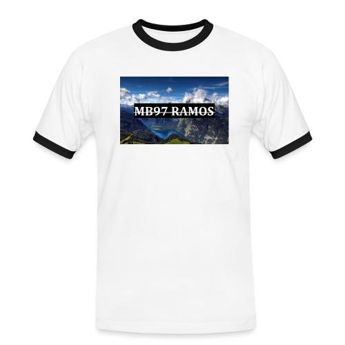 MB97RAMOS - Männer Kontrast-T-Shirt