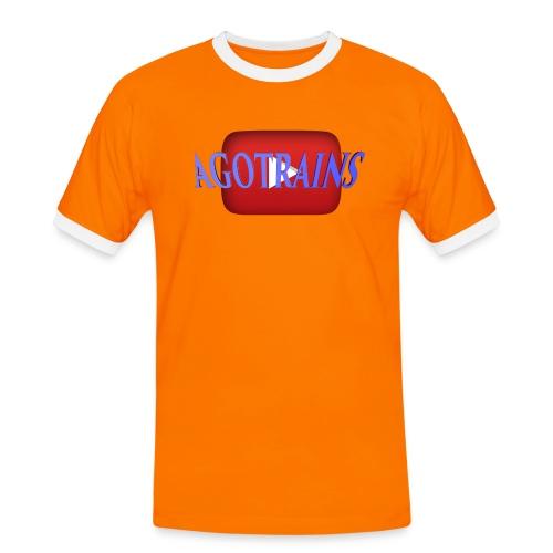 AGOTRAINS - Maglietta Contrast da uomo