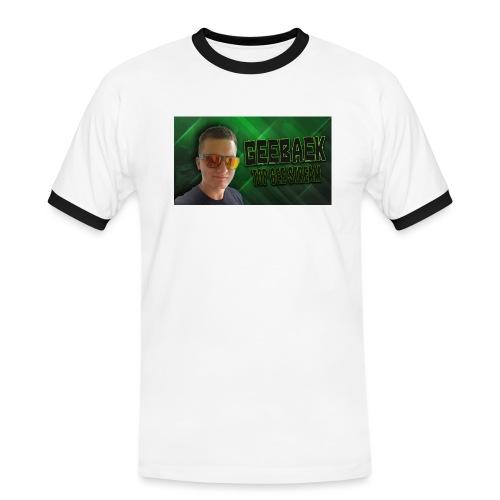 Geebaek - Herre kontrast-T-shirt