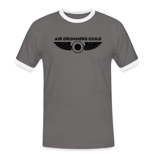 ADG Drum'n'Wings Emblem - Men's Ringer Shirt