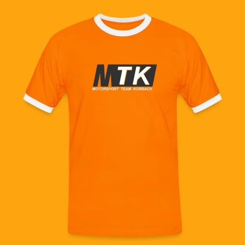 Grey & Color - Männer Kontrast-T-Shirt