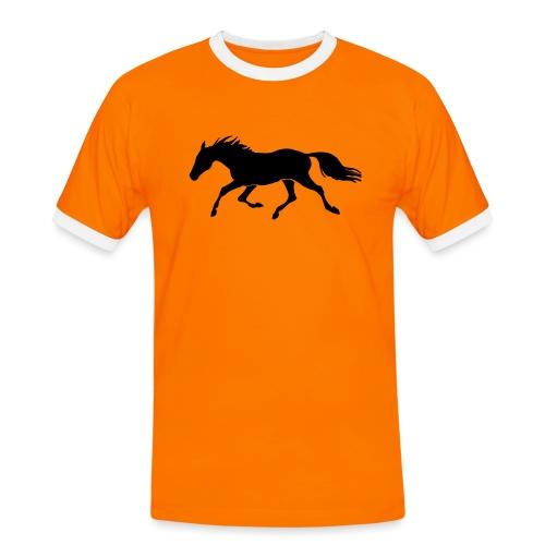 Cavallo - Maglietta Contrast da uomo