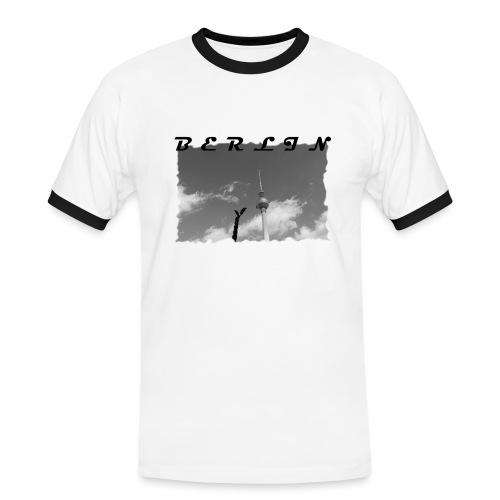 BERLIN #1 - Männer Kontrast-T-Shirt
